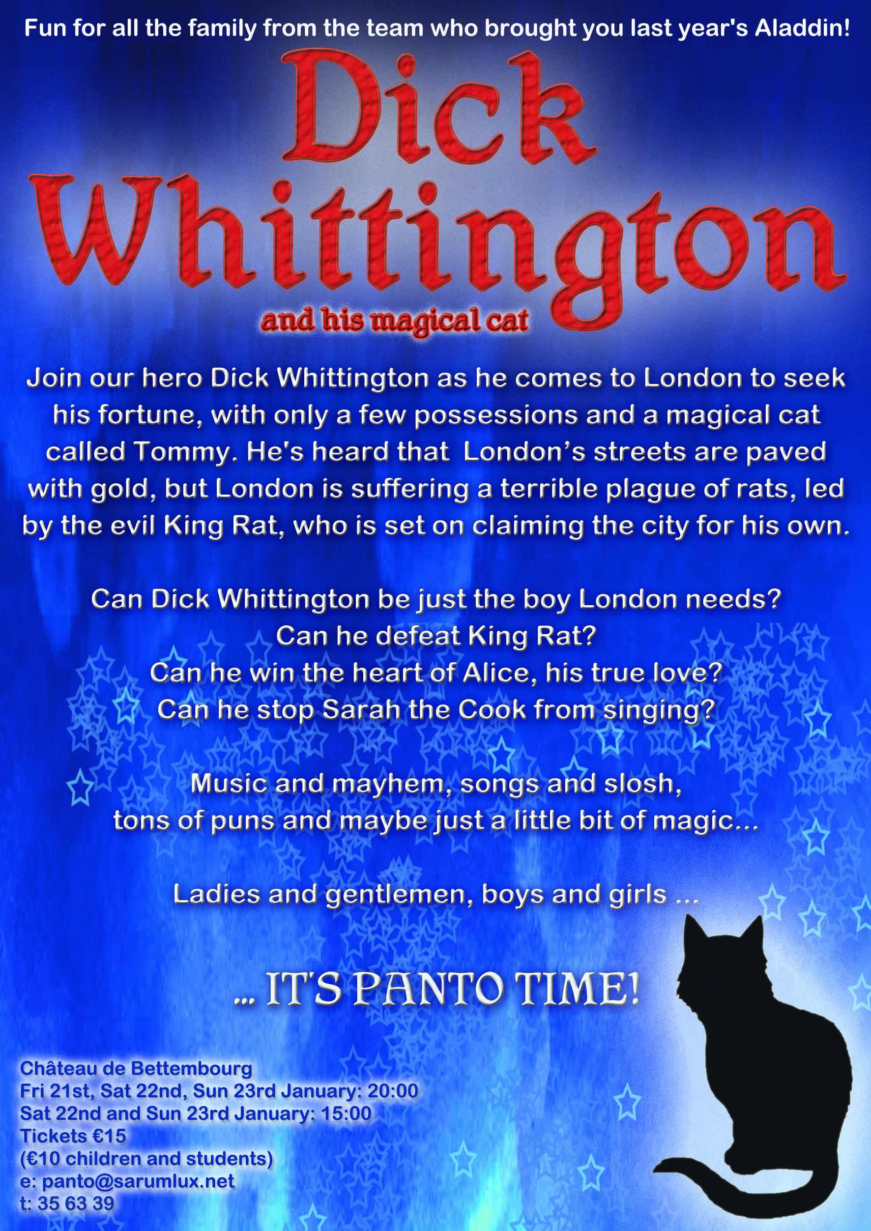 Dick Whittington Information